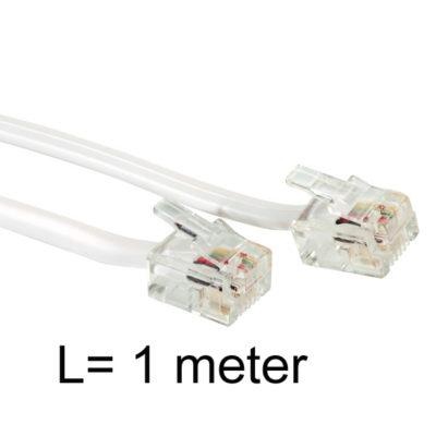 1 meter verbindingskabel