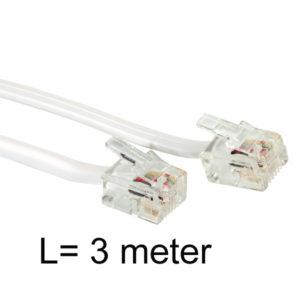 3 meter verbindingskabel