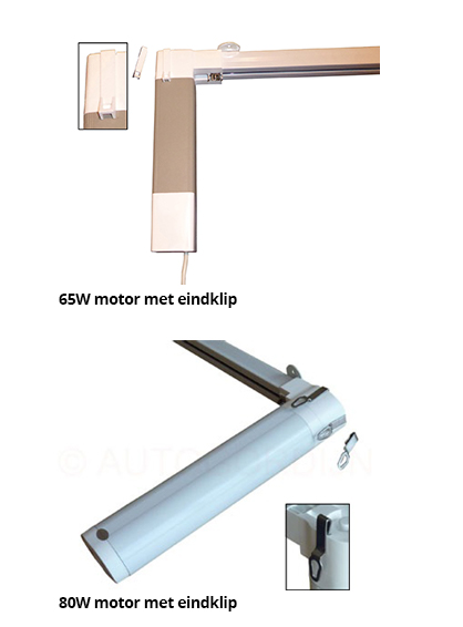 Rail Op Maat Motor Met Eindclip